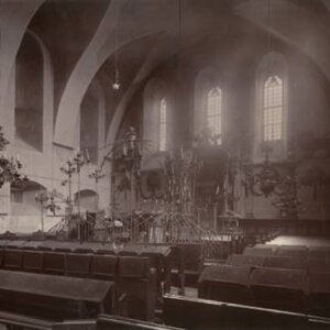 Tarnopol - interior of synagogue 1900 (21)