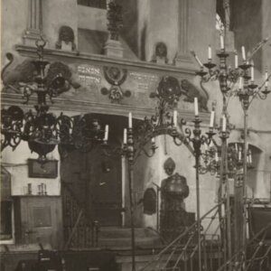 Tarnopol - interior of synagogue 1917 (4)